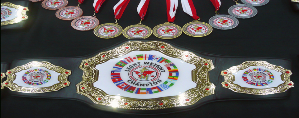 WCJJO Championship Belt and Medals 960 x 380
