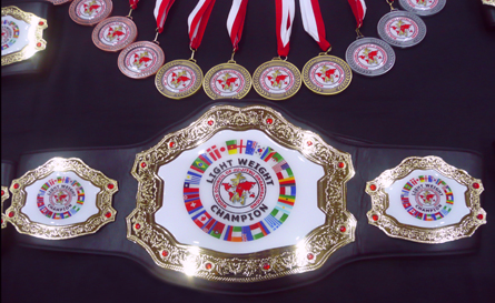 WCJJO Championship Belts and Medals